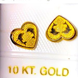 Real 10k Gold Earrings Studs Baby
